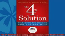 For you  The 4 Solution Unleashing the Economic Growth America Needs