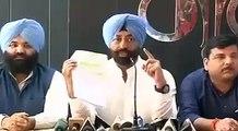 Sukhpal Singh Khaira on   clean chit to Kamal Nath and Jagdish Tytler-Khaira