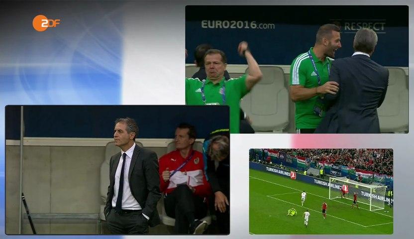 Euro 2016: a kispadok az Ausztria - Magyarország mérkőzésen