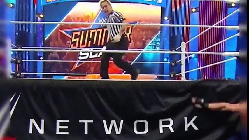 WWE SummerSlam 2015 Brock Lesnar vs Undertaker Full Match