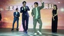 Jackie Chan dancing on Tunak Tunak Tun