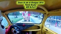 Course de côte de Vernègues Patrick Brochet 4CV Gr.Fc/2 2ème monte de course