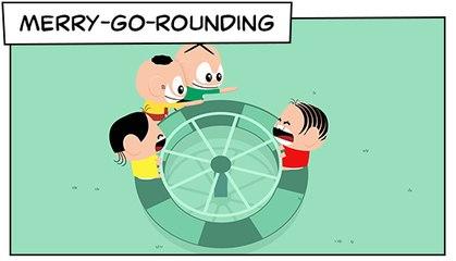 Merry- Go- Rounding (T03E24) | Mônica Toy