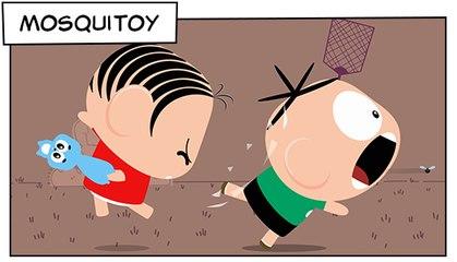 Mosquitoy (T03E14) | Mônica Toy
