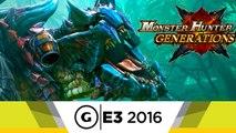 Monster Hunter Generations - Deviant Monsters E3 2016 Trailer