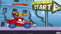✔ Cars cartoons for kids. Racing Car. Track with obstacles. Car eats car. Learning for children ✔