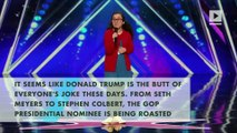 A 13-year-old comedian roasted Donald Trump on America's Got Talent