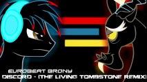 Discord (Remix) - Eurobeat Brony - MLP my little pony animated animation song