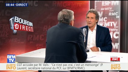 Pierre Laurent PCF itw 16-06-2016