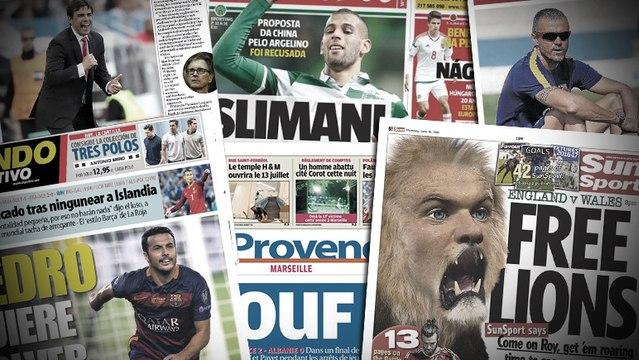 L'enveloppe mercato de Luis Enrique au Barça, le montant hallucinant demandé par le Sporting pour Slimani