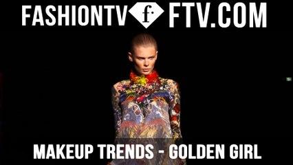 Makeup Trends Spring/Summer 2016 Golden Girl   FTV.com