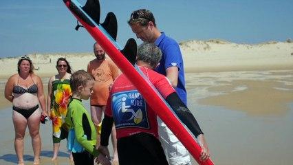 VOTEZ POUR HANDI SURF / LA FRANCE S'ENGAGE