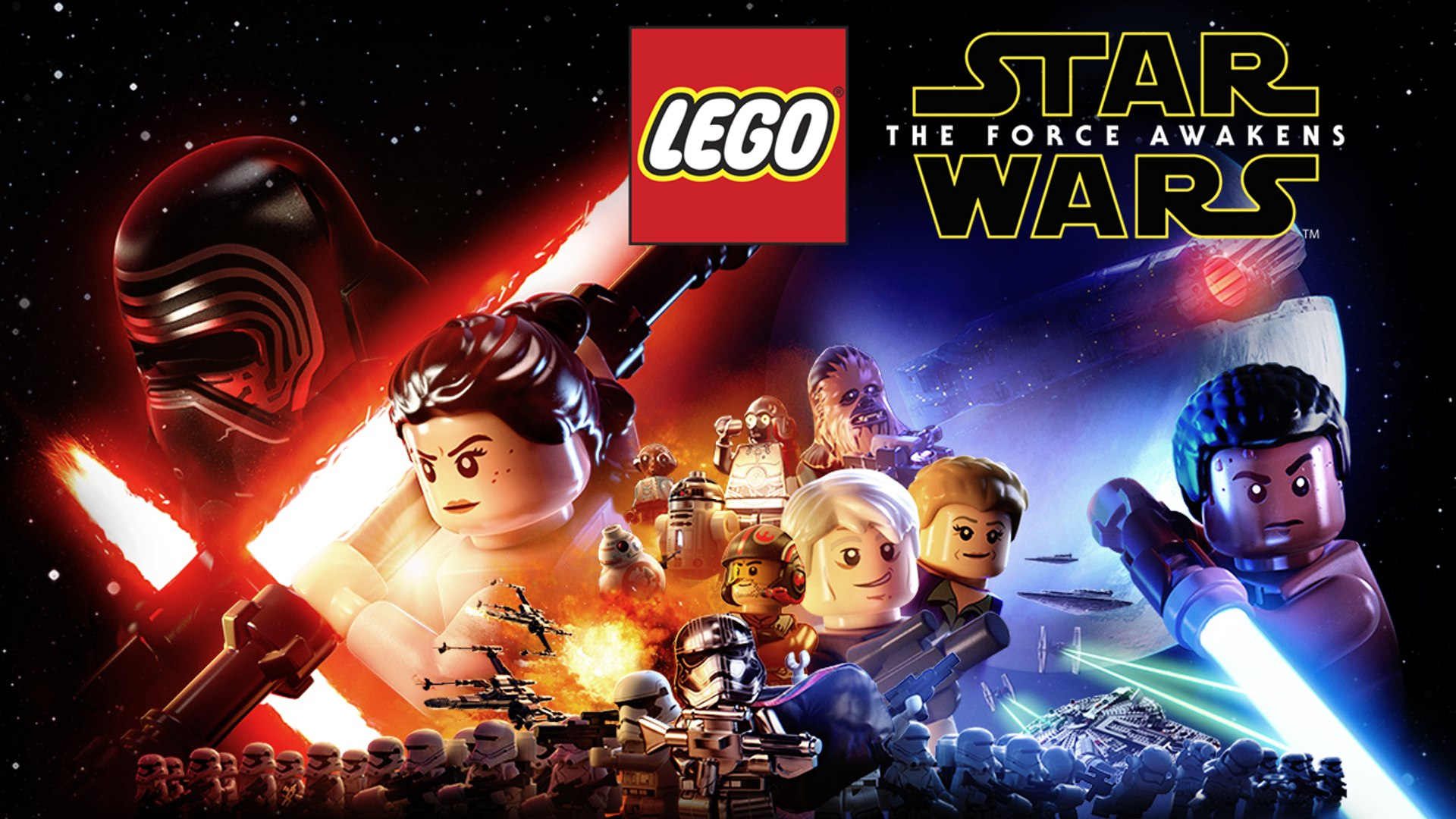 Let's Play LEGO Star Wars: The Force Awakens | LEGO Star Wars Gameplay DEMO (Xbox One Gameplay)
