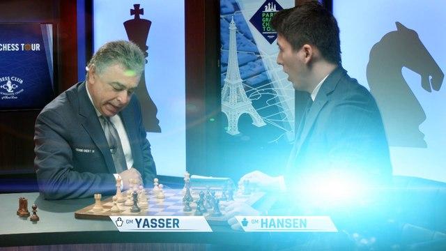 GM Yasser Seirawan and GM Eric Hansen Square Off on Blitz