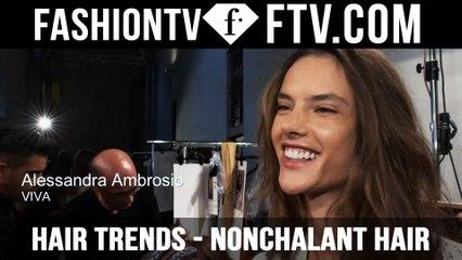 Hair Trends Milan Spring/Summer 2016 Nonchalant Hair   FTV.com