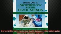 EBOOK ONLINE  Burtons Microbiology for the Health Sciences Microbiology for the Health Sciences  DOWNLOAD ONLINE