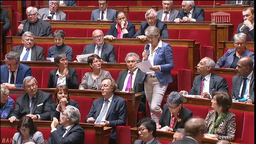 Accord de Paris : S. Royal répond à une question au Gouvernement