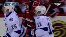 Tom Pyatt goal 22 Jan 2013 Tampa Bay Lightning vs Carolina Hurricanes NHL Hockey