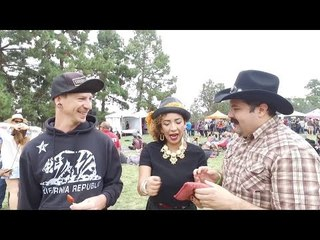 Teaching Gueritos How To Dance Cumbia at TacoTopia 2016