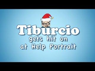 Tiburcio Gets Hit On (at Help Portrait) by Eddie G!