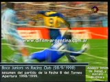 Boca Juniors vs Racing Club (1-1) - (28/09/1998) difilm