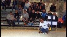 International à pétanque de Nyons : Finale ROCHER vs FRANCONE