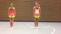 Bassett cheer tryouts 14-15