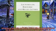 Enjoyed read  Lectures on Rhetoric and Belles Lettres The Glasgow Edition of the Works and