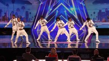 AGT Auditioners Show Off Their Edgy Dance Moves America's Got Talent 2016 Auditions