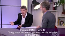 """Bac 2016 : Les corrigés d'Histoire Bac S """"La gouvernance européenne depuis le traité de Maastricht"""""""