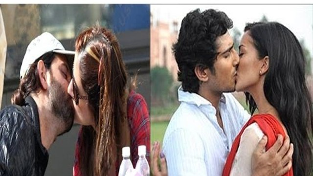 Bollywood Stars Caught Kissing In Public | Watch Video