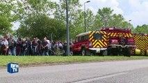 2.500 personnes à la marche blanche pour le couple de policiers tués