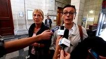 Mes Mazza et Leverbe, avocates des parents d'Alexandre, après le verdict