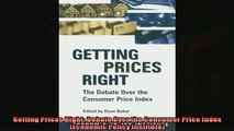For you  Getting Prices Right Debate Over the Consumer Price Index Economic Policy Institute