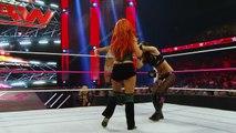 Charlotte & Becky Lynch vs. Brie Bella & Alicia Fox- Raw, October 12, 2015 -