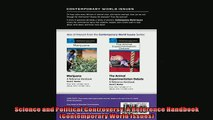 Popular book  Science and Political Controversy A Reference Handbook Contemporary World Issues