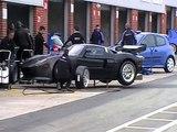 Oulton Park BTCC GT Fiat Abarth Renault Clio Testing 17 Mar 2010 (8)