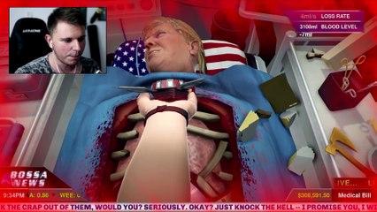 THE DEATH OF DONALD TRUMP | Surgeon Simulator Fun