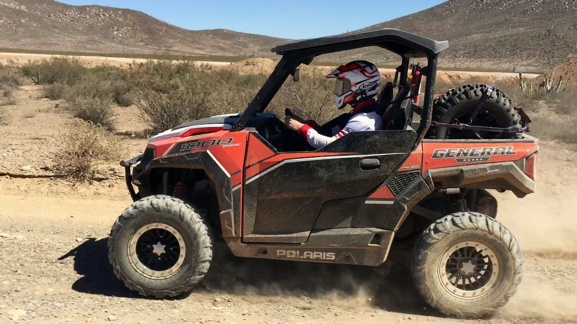 Polaris General 1000+ Mile Baja Test
