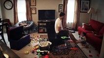 Maison avec papa : Voici ce qui se passe quand le papa est seul avec bébé en timelapse