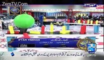 mubashir luqman badly blasted on the channels to conduct the ramzan transmission