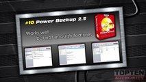 How to Backup Data - SHORT VERSION - Top 10 Data Backup Software - Review 2012