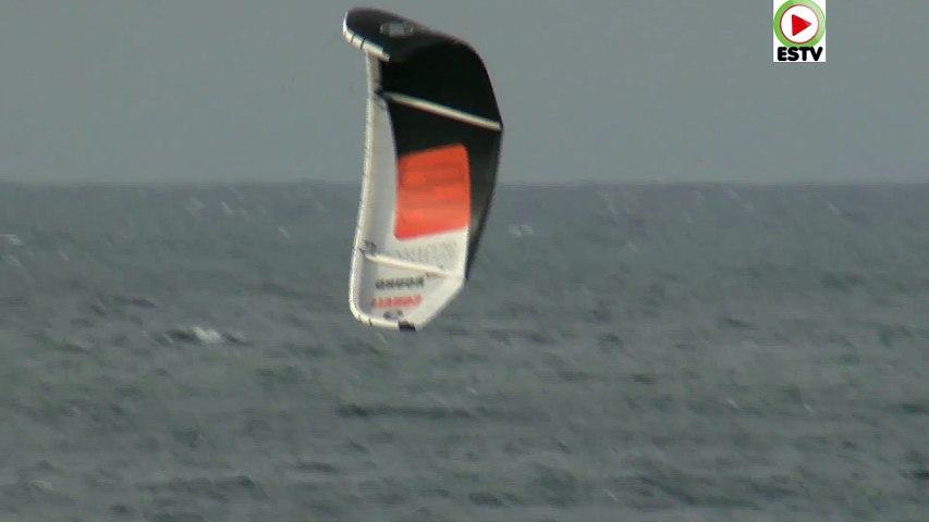Hendaye: En mode Kitesurf -  Euskadi surf TV