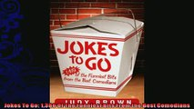 READ book  Jokes To Go 1386 Of The Funniest Bits From the Best Comedians READ ONLINE