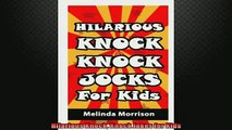 FREE DOWNLOAD  Hilarious Knock Knock Jokes for Kids  DOWNLOAD ONLINE