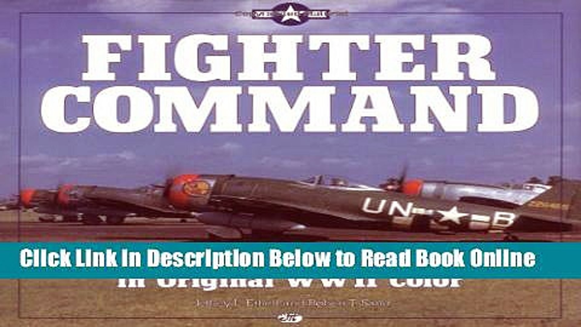 Download Fighter Command: American Fighters in Original WWII Color  Ebook Free