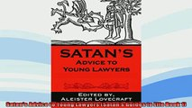 Free PDF Downlaod  Satans Advice to Young Lawyers Satans Guides to Life Book 1  BOOK ONLINE