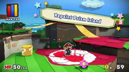 Trailer E3 2016 de Paper Mario : Color Splash