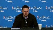 Klay Thompson Postgame Interview  Warriors vs Cavaliers  Game 6  June 16, 2016  NBA Finals