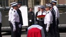 La Marseillaise jouée en hommage aux deux policiers tués à Magnanville